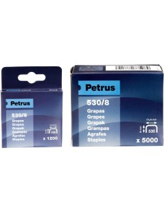 Grapas cobreadas 530/14-1200-77517 de petrus
