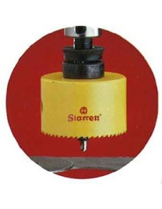 Corona perforada h-177mm caja de starrett