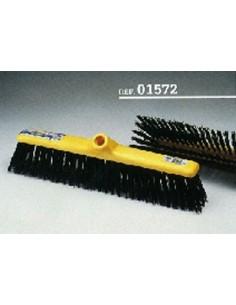 Cepillo barrendero 1572 fibra negra sin mango de universal