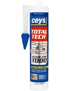 Total tech xpress 507216 290ml cartucho blanco de ceys caja de