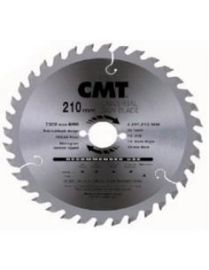 Disco sierra md 216x2,8x30 z64 aluminio de c.m.t.