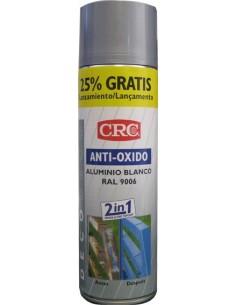 Spray antióxido plata ral 9006 500ml de c.r.c. caja de 6