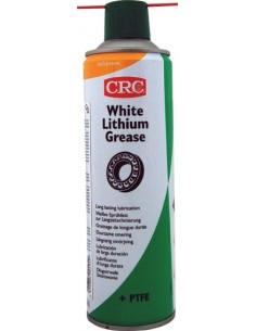Spray grasa white lithium + ptfe ind 500ml de c.r.c. caja de 12