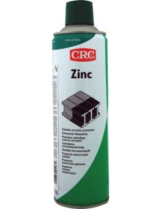 Spray industrial zinc 500 ml 30563 de c.r.c. caja de 12 unidades