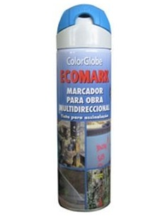 Spray marcador ecomark azul 500ml de c.r.c. caja de 12 unidades