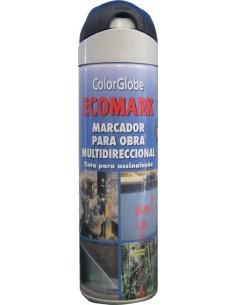 Spray marcador ecomark negro 500ml de c.r.c. caja de 12 unidades