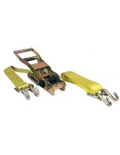 Ratchet gancho abierto 5000kg 9mt 50mm de cables y eslingas