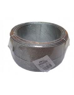 Cable galvanizado 03/6x07 + 1 de cables y eslingas caja de 100