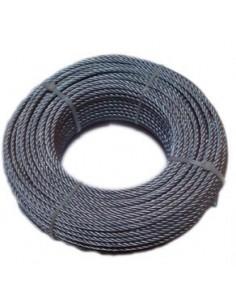 Cable galvanizado 08/6x19 + 1 de cables y eslingas caja de 100