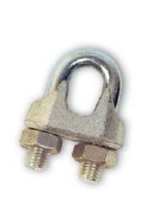 """Sujetacables galvanizados 3/8""""-10mm de cables y eslingas caja"""