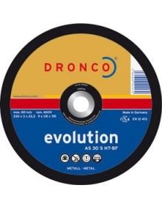 Disco dronco as30s-ht 125x3,0x22,2 corte metal de dronco caja