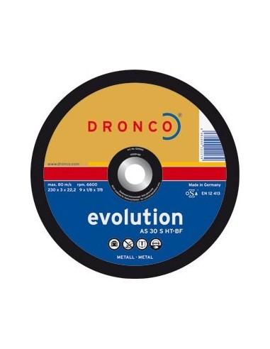 Disco dronco as30s-ht 230x3,0x22,2 corte metal de dronco caja