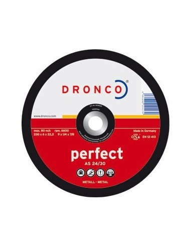 Disco dronco a24/30p 115x6,0x22,2 desbaste de dronco caja de 10
