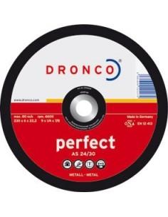 Disco dronco a24/30p 125x6,0x22,2 desbaste de dronco caja de 10