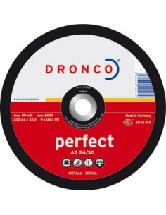 Disco dronco a24/30p 180x6,0x22,2 desbaste de dronco caja de 10