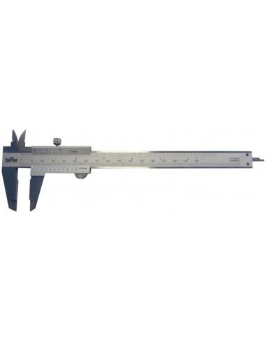 Calibre pie de rey monoblock c100 150mm inoxidable de atm