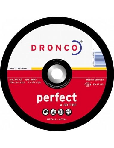 Disco dronco a30t 230x6,0x22,2 desbaste de dronco caja de 10