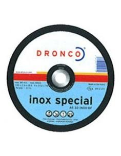 Disco dronco as30 inoxidable 125x2,5x22,2 de dronco caja de 25