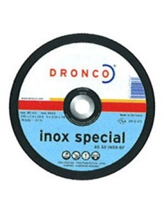 Disco dronco as30 inoxidable 180x2,5x22,2 de dronco caja de 25