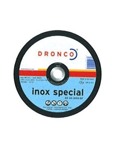 Disco dronco as30 inoxidable 230x2,5x22,2 de dronco caja de 25