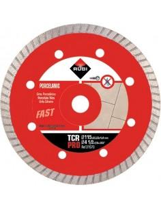 Disco diamante tcr 31970 115mm pro de rubi