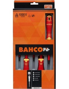 Juego destonillador aislo bahcofit b220.005 5pz de bahco