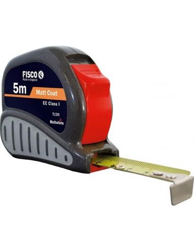 Flexómetro tl8m 25mm tri-lok freno lateral de fisco caja de 6