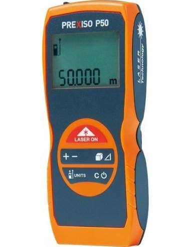 Medidor laser prexiso p50 812717 50mt 2p de prexiso