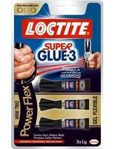 Peg.s.glue3 3x1gr power gel flex 2056169 de loctite caja de 12