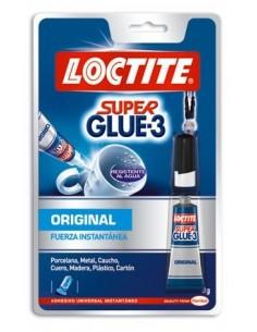 Pegamento super glue 3 03gr. 2002162/2056040 de loctite caja de
