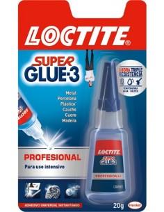 Pegamento super glue 3 20gr. 1579519/2055487 de loctite caja de