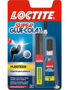 Pegamento super glue 3 02gr. 2067172 de loctite caja de 12