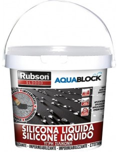 Silicona liquida sl3000 1326031-5kg teja de rubson