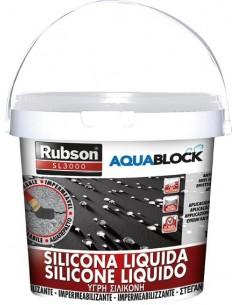 Silicona liquida sl3000 1139782-5kg negra de rubson