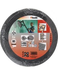 Disco lija ø225mm g080 bl5 de einhell