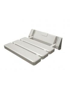 Asiento abatible corfu 20000402 blanco de interbath