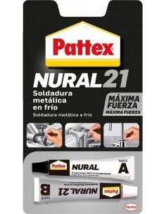 Nural 21 soldadura metalica en frio de pattex