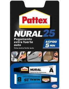 Nural 25 pegamento extrafuerte auto de pattex