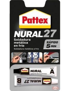Nural 27 soldadura metalica en frio rapida de pattex