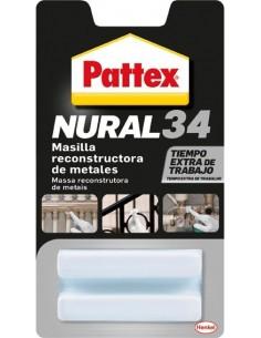 Nural 34 masilla reconstructora de metales de pattex