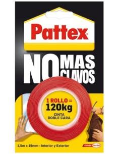 Pattex no + clavos 12cinta doble cara1403701 de pattex