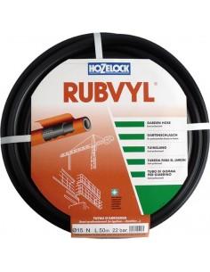 Manguera rubvil 105250/25mm goma negra r/50m de hozelock