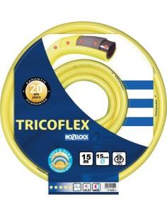 Manguera tricoflex 048374/25mm amarilla r/50m de hozelock