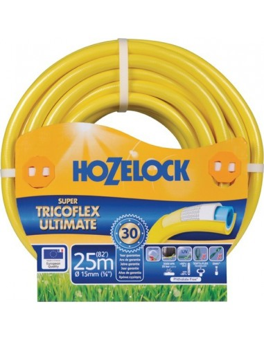 Manguera supertricoflex 139084/15mm amarilla r/50m de hozelock