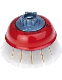 Cepillo amoladora hscg-075x0,30xm14 latonado con guarda de