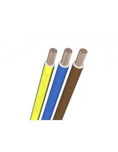 Hilo linea flexible azul 1x6 de ibercable caja de 100 unidades