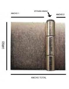 Bisagra soldar librillo besl10 100x85(128) de recense