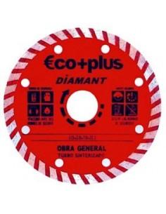 Disco diamante turbo e + p 230x7 blíster de abratools