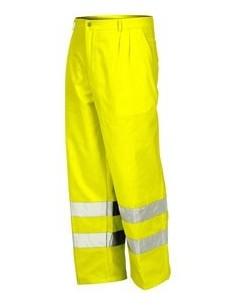 Pantalon alta visibilidad amarillo 8430n t-xl de starter