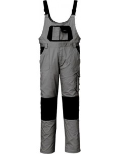 Pantalon peto stretch gris/negro 8735c t-l de starter